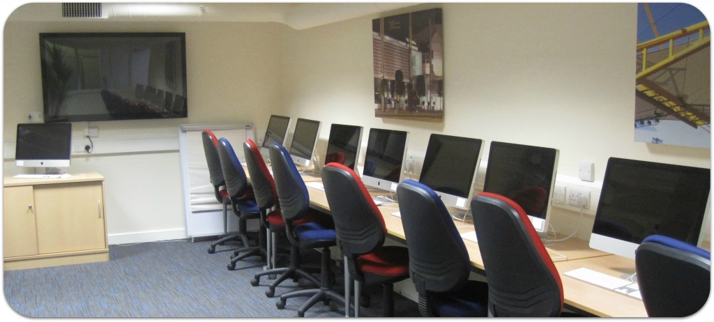 Red Tape Central training room