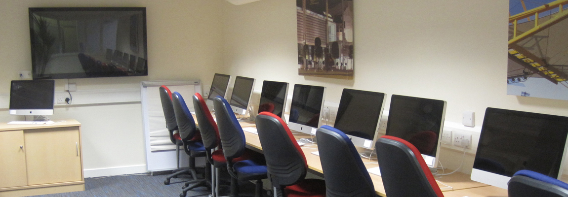 Click here to book our training room