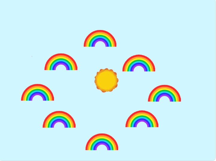 Rainbow music player
